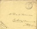 Brief Belg Legerpost 5 Naar Berlaere December 1918 ! - Afzender Behorende Tot Z111. - Guerra 14 – 18
