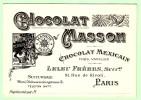 ADVERTISING - Chocolate, Masson - Publicité