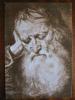 Titian Portrait Of Old Man Louvre Paris Art Postcard - Peintures & Tableaux