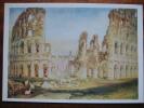 Turner, J M W  Rome: The Colosseum British Museum London Art Postcard - Malerei & Gemälde