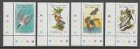 SERIE NEUVE DE BARBUDA - BICENTENAIRE DE LA NAISSANCE DE J.-J. AUDUBON N° Y&T 741 A 744 - Collections, Lots & Séries