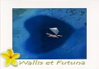 Wallis Et Futuna Carte Postale Moderne Coeur Du Lagon Et La Pirogue Ed  P. Nicomette WA099 Neuve TB - Wallis Et Futuna