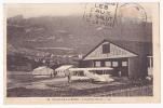 Challes Les Eaux(Chambéry Aviation) - L'Aviation Civile - A Circulé En 1935, Timbre Décollé, Provient D'un Carnet - Aerodrome