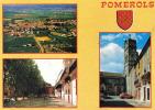 Carte Postale 34. Pomerols  Trés Beau Plan - Non Classés