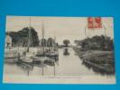 17) La Tremblade - N° 5 - Le Canal Et Le Port  - Année 1913 - EDIT - M.D - La Tremblade