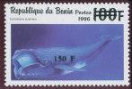 Bénin 2000  (Eubalaena Australis  -  150F/100F  )  ** Luxe ,  RARE - Walvissen