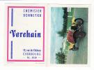 Calendrier 1967 Publicité Chemisier,bonnetier Rue Du Chateau Cherbourg : Voiture Ancienne Traction - Petit Format : 1961-70