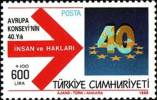 Turkije / Turkey / Türkei / Turquie  RAAD VAN EUROPA / CONSEIL DE L´EUROPE / EUROPARAT - Europa-CEPT