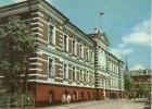 Latvia, Libau, Liepaja, Building Of The Executive Committee Of The Town Soviet, Used Postcard [P6885] - Latvia