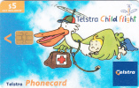 AUSTRALIA(chip) - Telstra Child Flight, Exp.date 31/10//04, Used - Australia