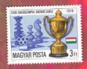 HONGRIE 1979 Echecs Echec Chess YT:2653 Timbre Neuf - Scacchi