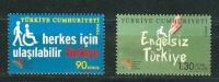 Turkey, Yvert No 3561/3562, MNH - Nuevos