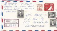 AM - 17598 - Entier Postal Recommandée Envoyé De Balboa 1968 - Kanalzone