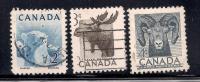 Canada 1953 SC# 322-324 - 1952-.... Reign Of Elizabeth II