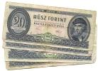 20 Forint 1975 - LOT - Hongrie