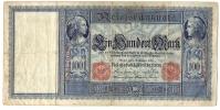 100 DM - 10.9.1909. - [ 2] 1871-1918 : Duitse Rijk