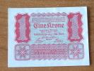 EINE KRONE Wien 1922 ( For Grade, Please See Photo ) ! - Autriche