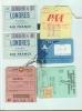 AEREI - CARTE D'IMBARCO VARIE COMPAGNIE - ANNI 1955 / 1965 - - Europe