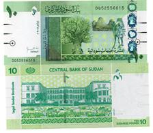 SUDAN 10 POUNDS NEW NORTH 2011 UNC LOOK - Soudan