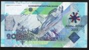 KAZAKHSTAN P36  2000 TENGE   2011 #AA Signature 5    XF - Kasachstan
