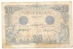 VINGT FRANCS - 20.12.1912. - RARE !!!!!!!!!!!!!! - 20 F 1905-1913 ''Bleu''