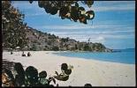 AMERICA -  ISOLE VERGINI USA. Cartolina Viaggiata Raffigurante La Spiaggia Morning Star A St. Thomas - Cartoline