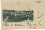 Tientsin E. Lee   P. Used German Chinese Bureau Shanghai Very Light Crease Bottom Left Corner - Chine