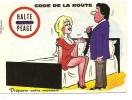 "Carte Humouristique ""code De La Route"" - Alexandre - Humor"