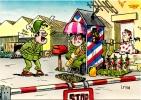CP Humour Militaire : Dessin De I . Riva (N°10) - Humour