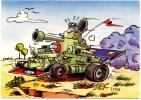 CP Humour Militaire : Dessin De I . Riva (N°18) - Humour