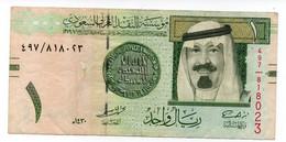 SAUDI ARABIA 5 RIYALS (1977) PICK # 17b VF-XF. - Arabia Saudita