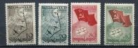 Russia 1938 Sc 625-8 Mi 584-7 MH North Pole - 1923-1991 USSR