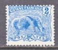 Guyana 52  *  FAUNA  ANTEATER - French Guiana (1886-1949)