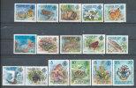 SEYCHELLES Z.I.L. SC1-16 FAUNA BIRDS, SEALIFE, TURTLE HIGH VALUES 1981 ISSUE SCARCE - Seychelles (1976-...)