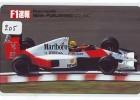 Télécarte JAPON * AYRTON SENNA (AS-J-205)  Formula 1 * Voiture Auto * Car Racing *  Phonecard Japan *  SHELL * HONDA - Coches