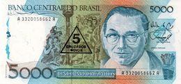 BRAZIL 5 MIL REIS ESTAMPA 19A SERIE 173A BRASIL - Brazil