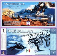 ANTARCTICA 2 DOLLARS 1999 P NL UNC - Billets