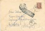 Carta Vilanova I Geltru (Barcelona) 1942. CENSURA. Retour. Vapor - 1931-Today: 2nd Rep - ... Juan Carlos I