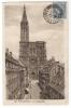 CPA- 67- Bas Rhin- Strasbourg- Cathédrale- Syndicat National Agents PTT ( Cachet) IXe Congrès 1927 - Poststempel (Briefe)
