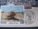 6246 Rare Cad Poste France à L´étranger  Peintre Peinture  Céres 1987 Boudin Champlain Canada Toronto Capex 87 - Philatelic Exhibitions