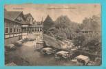 GERMANIA HILDESHEIM GALGENBERG RESTAURANT AUGUST HOLZEN CARTOLINA FORMATO PICCOLO VIAGGIATA NEL 1919 - Hildesheim