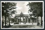 "S/w AK German Empires ,DR Berlin Mitte 1935 ""Brandenburger Tor Mit Old Cars,Brandenburger Gate   ""1 AK, Used,benutzt - Porta Di Brandeburgo"