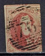 Belgien / Belgium - Mi-Nr 9 Gestempelt / Used (g617) - 1858-1862 Medaillen (9/12)