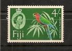 FIDJI,oiseaux,perroquet,Y -T  166 A ** MNH - Perroquets & Tropicaux