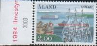 Aland 1984  Ship Siofart - Cinquantenario Compagnia Navale Di Aland 1v Cpl  ** MNH - Aland