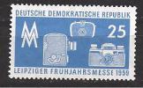 ALLEMAGNE / DDR / Foire De Leipzig / Neuf ** / 1959 / APPAREIL PHOTO - Neufs