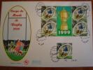 FDC / GRANDE ENVELOPPE 1ER JOUR / COUPE DU MONDE DE RUGBY / FRANCE 1999 - FDC