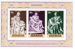 PENRHYN IS. Michelangelo   Souvenir Sheet Sc 78a MNH ** - Cookeilanden