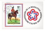 1976  Bicentenaire Des Etats-Unis    Bloc Feuillet   PA Oblitéré - Central African Republic