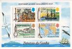 TRISTAN DA CUNHA Centenary Of HMS Challerger´s Visit  Souvenir Sheet  UM **  MNH - Tristan Da Cunha